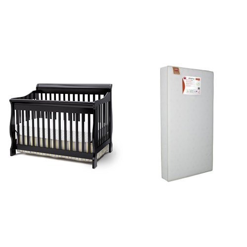 Serta Infant Toddler Mattress Awardpedia - Delta Children Canton 4-In-1 Convertible Crib, Espresso ...
