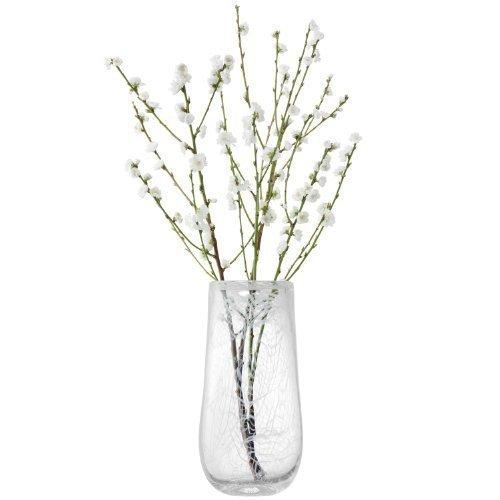 LSA Vase in weiß Baumwolle H23cm - G1057 - 23-862