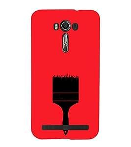 EPICCASE pain brush Mobile Back Case Cover For Asus Zenfone Go (Designer Case)