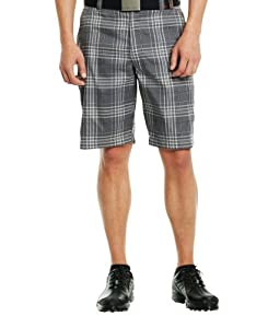 Under Armour Mens UA Forged Plaid Golf Shorts 3.5 by Under Armour