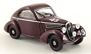 Amazon.com: Fiat 508 Balilla Berlinetta, No.45, Mille Miglia, 1936