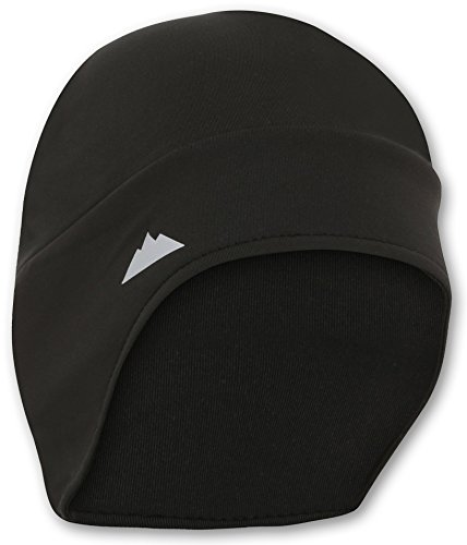 Helmet Liner Skull Cap Beanie with Ear Covers. Ultimate Thermal Retention and Performance Moisture Wicking. Fits Under Helmets. (Cycling Helmet Cover compare prices)
