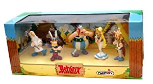Plastoy Asterix Figures Figurine Set