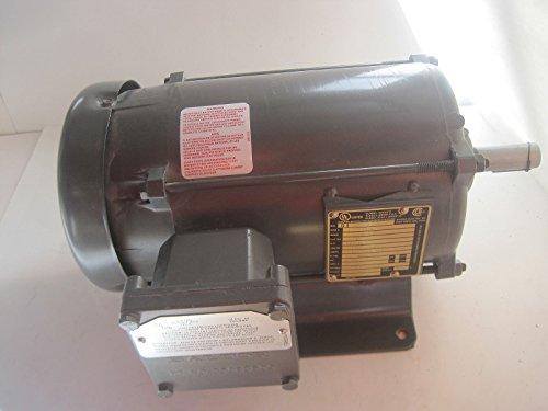 (M7015) 1 Hp 208-230/460 Vac 3 Phase 182 Frame 1800 Rpm Tefc
