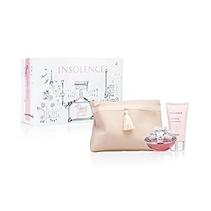Insolence by Guerlain for Women 3 Piece Set Includes: 1.7 oz Eau de Toilette Spray + 2.5 oz Shimmering Body Milk + Guerlain Clutch