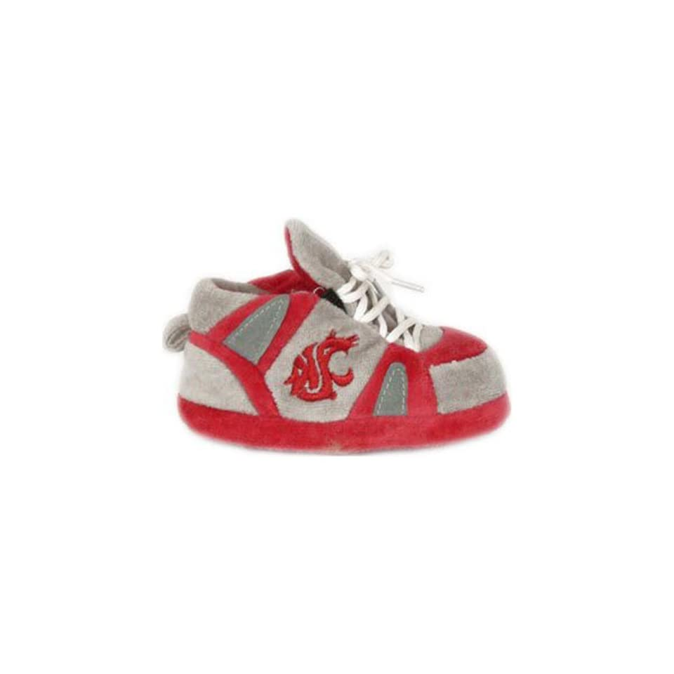 Washington State Cougars Comfy Feet NCAA Baby Slippers