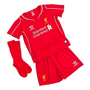 Liverpool FC 2014/15 Home Infant Football Kit - size 2-3YRS by Warrior