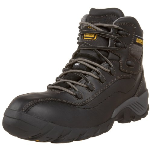 Caterpillar Men's Nitrogen Hiker Composite Toe Hiking Boot,Black,10 M US