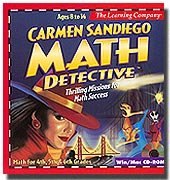 Carmen Sandiego Math Detective