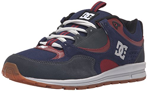DC Men's Kalis Lite M Skate Shoe, Navy/Grey, 10.5 M US