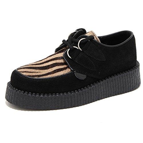 63960 scarpa allacciata UNDERGROUND CREEPER sneaker donna shoes women [3 UK-37 EU ]