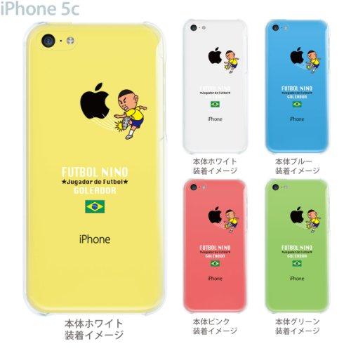 【ブラジル】【サッカー】【iPhone5c】【iPhone5cケース】【iPhone5cカバー】【docomo】【au】【Soft Bank】【スマホケース】【クリアケース】【FUTBOL NINO】 10-ip5c-fca-bz01