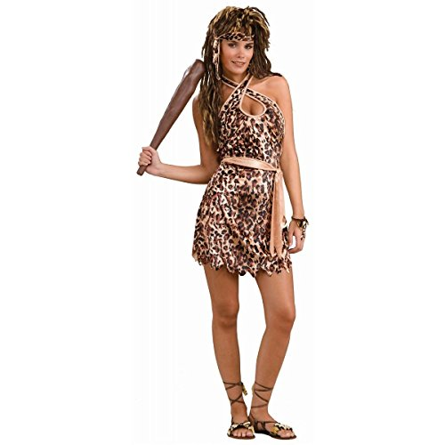 [GSG Cave Beauty Costume Adult Halloween Fancy Dress] (Cave Baby Girl Costumes)