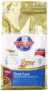 Science Diet Oral Care Adult Cat Food, 3.5 Lb