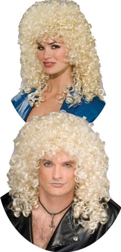 80's Curly Blonde Wig