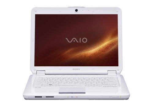 Sony VAIO VGN-CS320J/W 14.1-Inch Laptop - White
