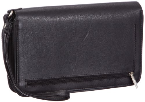 Bodenschatz Kings Nappa Bag Mens Black Schwarz (black) Size: 24x13x4 cm (B x H x T)