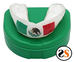 Custom MEXICAN Flag Mouthguard by SportingSmiles