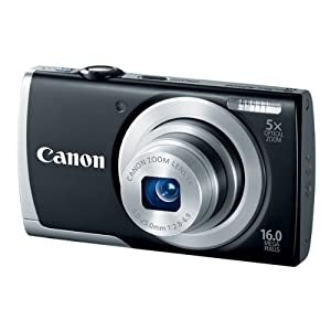 PowerShot A2500 16.0 MP Digital Camera with 5x Optical Zoom and 720p HD Video Recording (Black)