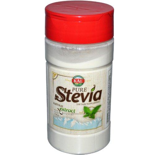 Kal Pure Stevia Extract Powder -- 3.5 Oz