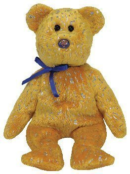 ty-beanie-baby-discover-the-gold-bear-northwestern-mutual-exclusive-by-ty