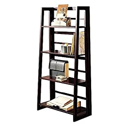 Dolce Dark Walnut Folding Bookcase For $79.99 at Target.com till 10-18-2008