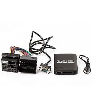 in Adapter Kit for BMW E36 E46 X3 Z3 Z8 Z8 USB 3.5mm : Car Electronics