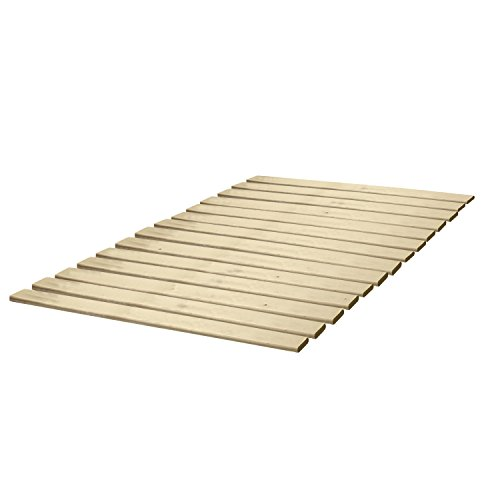 Classic Brands Wooden Bed Slats/Bunkie Board Solid Wood, Any Mattress Type, Queen Size (Wood Slat Bed compare prices)