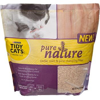 Image of Purina Tidy Cats Pure Nature Cat Litter, 7.5-Pound