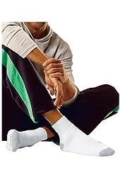 Hanes Men Big & Tall Cushion Ankle Socks 6-Pack
