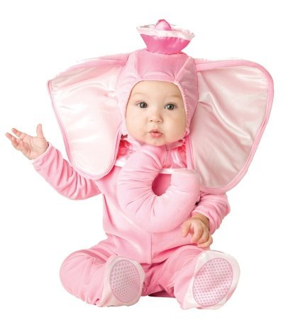 Costumes For All Occasions Ic16005Ts Pink Elephant Inf 12-18 Mon