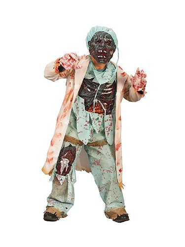 Zombie Doctor Child Costume - Kid's Costumes