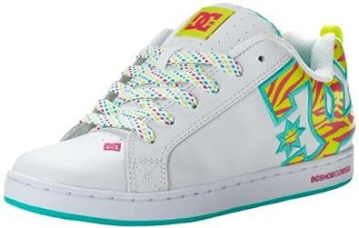 Buy DC Ladies Court Graffik SE Sneaker by Dc Shoes Womens