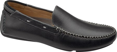 Johnston & Murphy Men's Hembree Venetian Loafer,Black Tumbled,12 M US