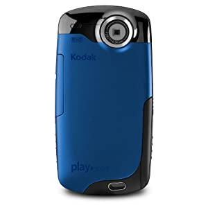 Kodak PlaySport (Zx3) HD Waterproof Pocket Video Camera (Blue) (Discontinued by Manufacturer)