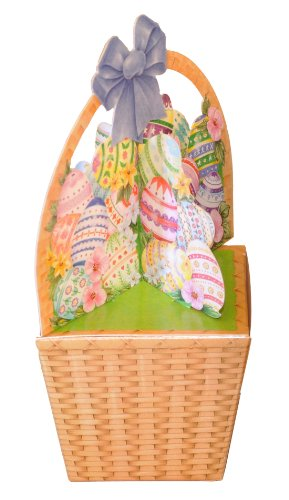 Easter Weaved Basket Mini Gift Box Empty Favor Packaging 3 Inch Tapered Box 6.5 Inches Tall
