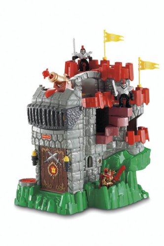 41K25tmVQlL Reviews Fisher Price Imaginext Adventures Castle