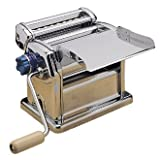 Winware Pasta Making Machine (Steel manually operated pasta machine, designed for quick, effective pasta production)by Winware