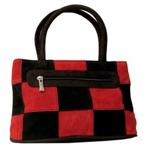 Small SUEDE PURSE RED BLACK - Buy Small SUEDE PURSE RED BLACK - Purchase Small SUEDE PURSE RED BLACK (Embassy, Apparel, Departments, Accessories, Wallets, Money & Key Organizers, Pocketbooks)