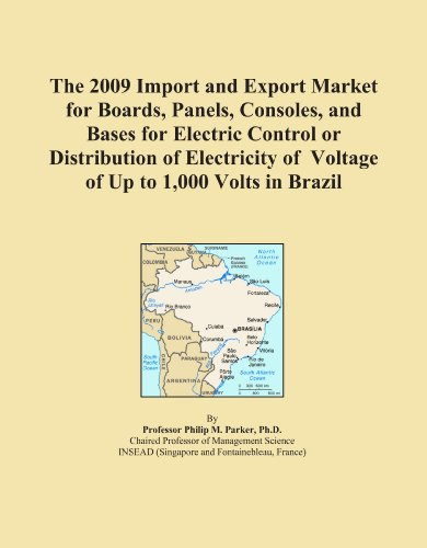 The 2009 Import And Export Market For Boards, Panels, Consoles, And Bases For Electric Control Or Distribution Of Electricity Of Voltage Of Up To 1,000 Volts In Brazil