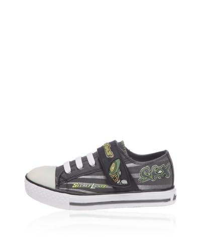 Skechers StokedRoswell 90428L, Sneaker bambino [Grigio]