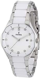 Festina Damen-Armbanduhr Analog Quarz Keramik F16399-1