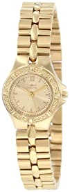 Invicta Womens 0137 Wildflower Collection 18k Gold-Plated