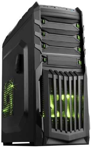 Itek Case Snake-G Case da Gaming per PC, Nero