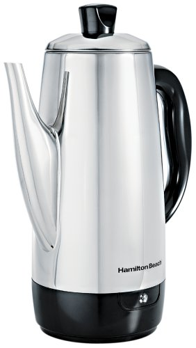 Why Choose The Hamilton Beach 40616 Stainless-Steel 12-Cup Electric Percolator