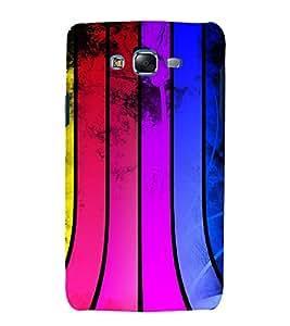 printtech Colored Pattern Streak Back Case Cover for Samsung Galaxy J2 / Samsung Galaxy J2 J200F