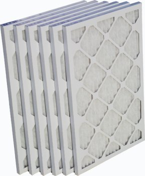 15x25x1 EZ-Pleat MERV 8 Air Filters (6-Pack) (Air Filter 15x25x1 compare prices)