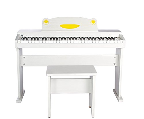 Artesia FUN-1 61-Key Childrens Digital Piano with Bench and