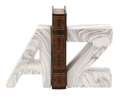 Deco 79 59723 Chic Ceramic Bookend Pair, 6