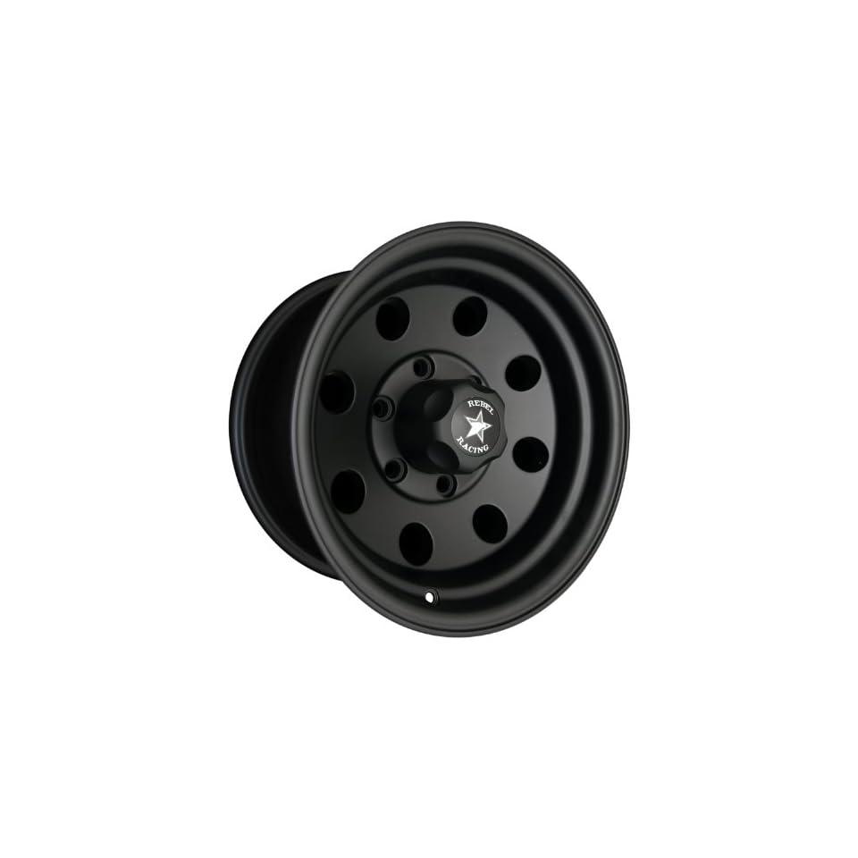 Rebel Racing Sahara 15x10  43mm 6x5.5 107.95 Matte Black Wheel